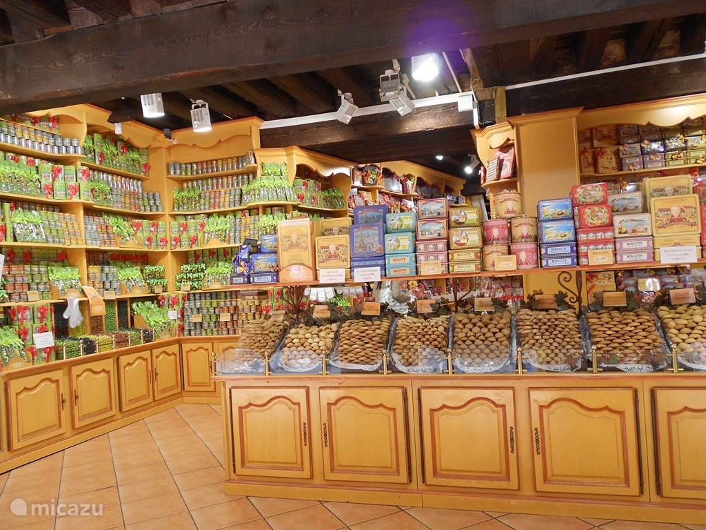 Een van de vele leuke winkeltjes in de Cité