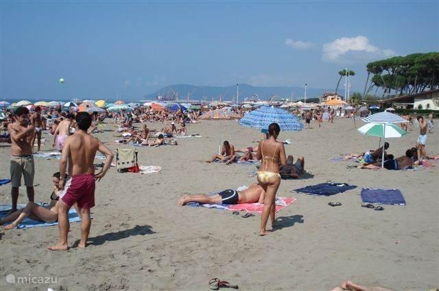 Partaccia strand (1 km)