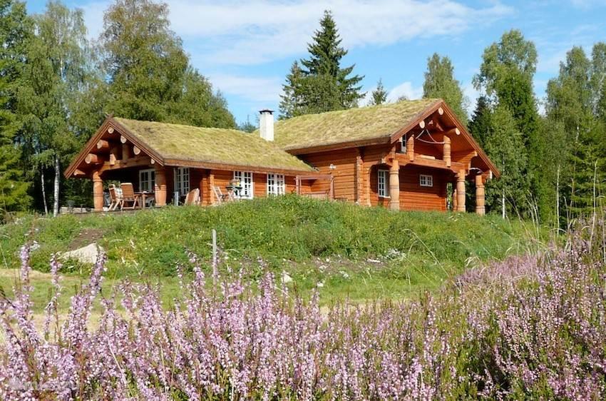 Vacation rental Norway – cabin / lodge Eco Lodge Hasås setra