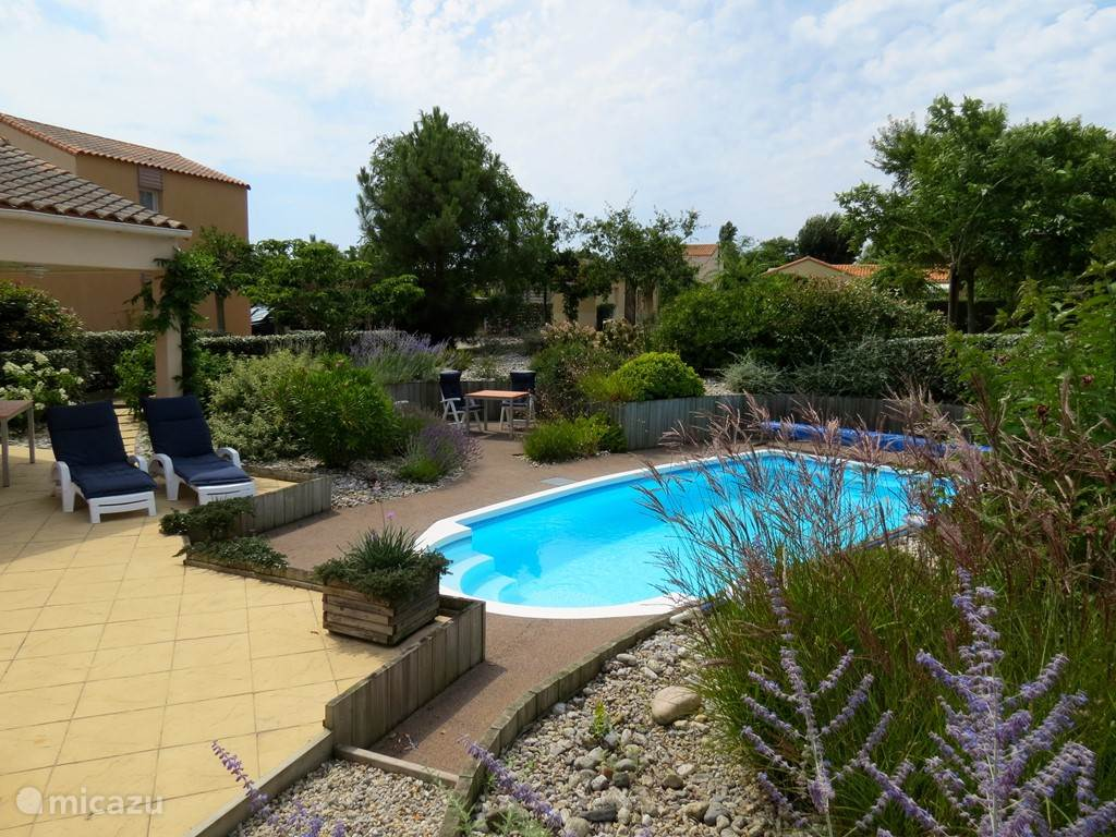 Vakantiehuis Frankrijk, Vendée, Les Sables-d'Olonne villa Villa Vendee (135) verwarmd zwembad