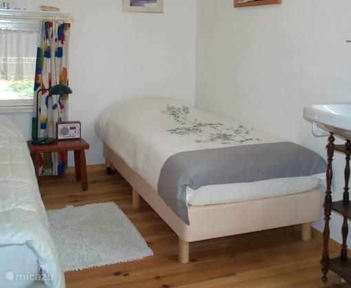 De tweede tweepersoons slaapkamer