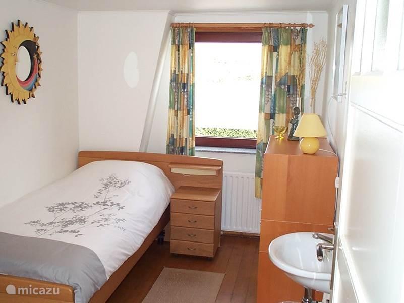 Een eenpersoons slaapkamer