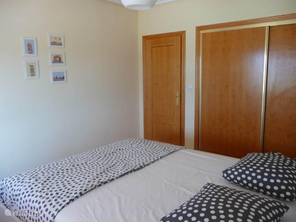2 persoons slaapkamer incl. inbouwkast