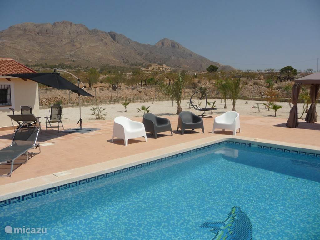Privé zwembad met prachtig uitzicht