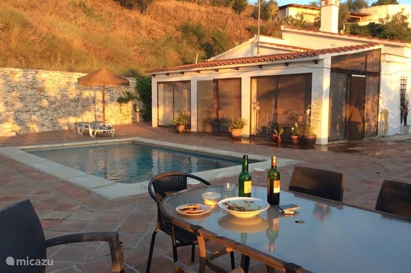 Vakantiehuis Spanje, Costa del Sol, Sayalonga Finca Casa la Estrella