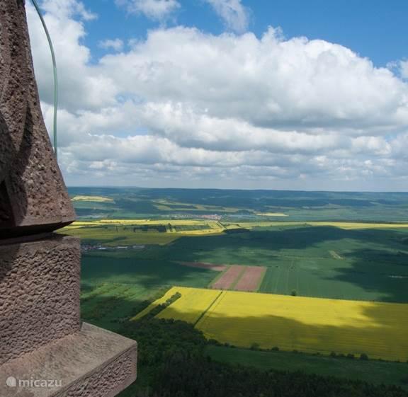panorama blik in Thüringen  (Bad Frankenhaus)