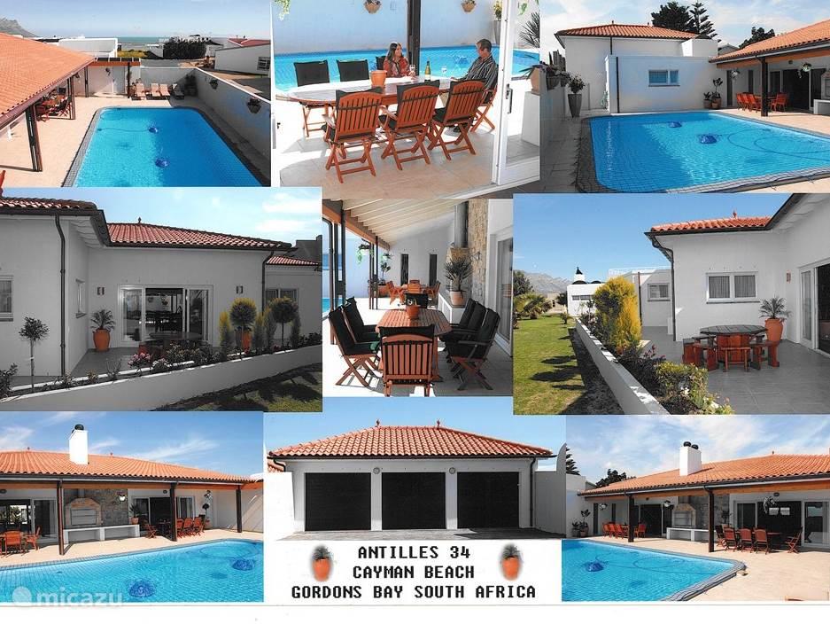 Vakantiehuis Zuid-Afrika, Kaapstad (West-Kaap), Gordon`s Bay Villa Antilles 34