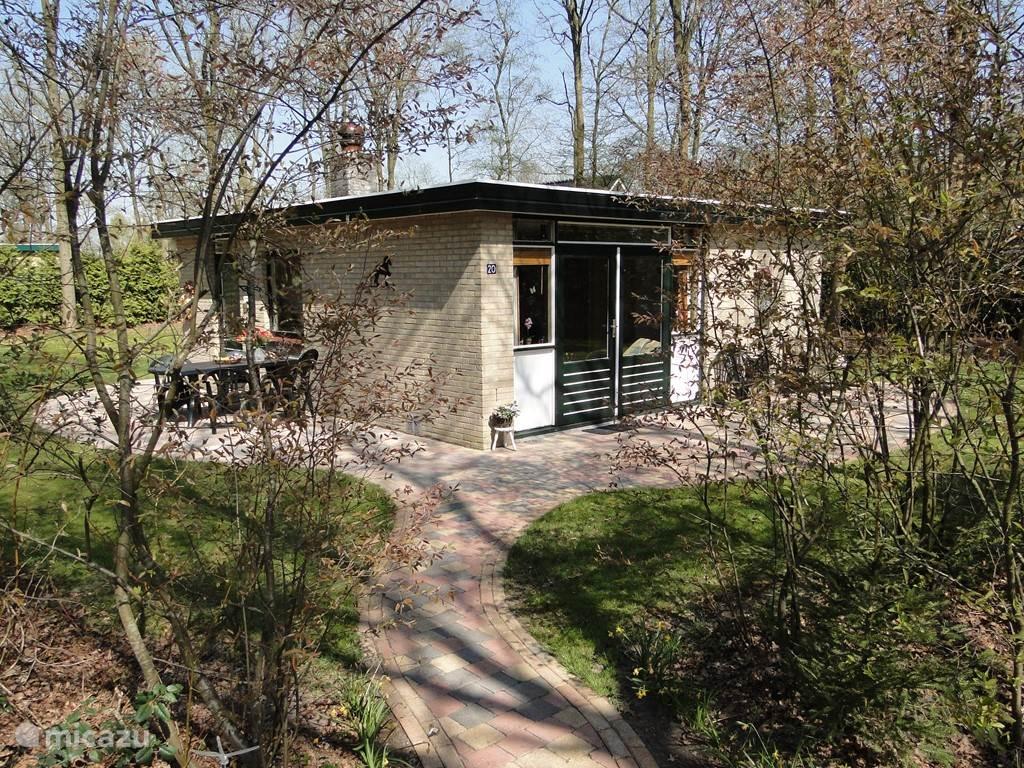 Vakantiehuis Nederland, Drenthe, Zorgvlied bungalow Boshuis