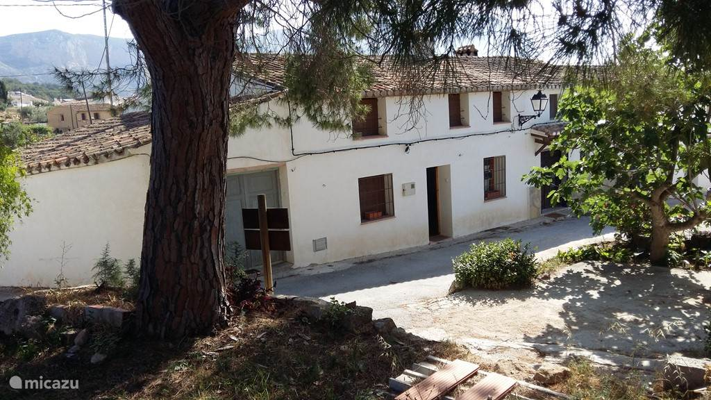 Vakantiehuis Spanje, Costa Blanca, Jesus Pobre vakantiehuis Casita 4 Cantons