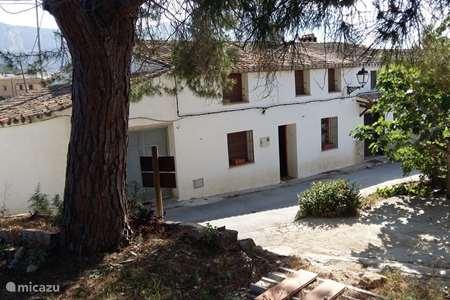 Vakantiehuis Spanje, Costa Blanca, Jesús Pobre vakantiehuis Casita 4 Cantons