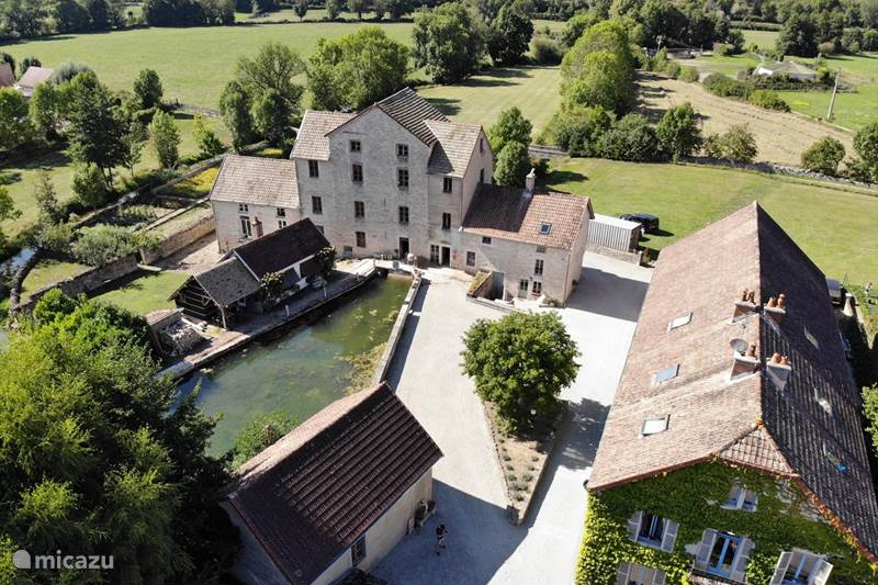 Vakantiehuis Frankrijk, Côte-d'Or, Bligny-sur-Ouche Vakantiehuis Fleur de Farine - watermolen