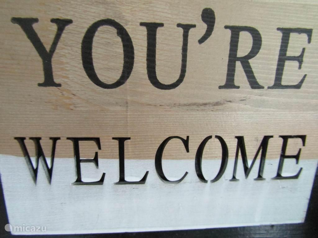 u bent het hele jaar door van harte welkom in ons vakantiehuis De Bosterp