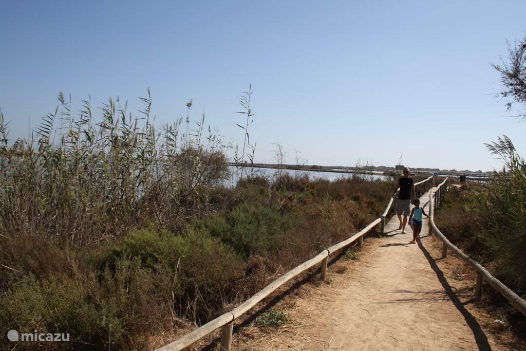 natuurpark Mar Menor met wandelpaden