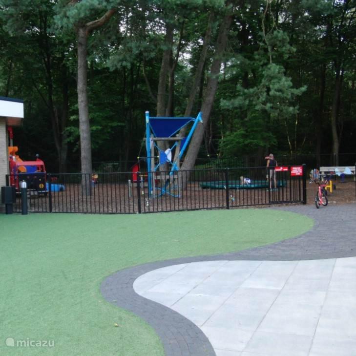 De speeltuin op Recreatiepark Ossenberg