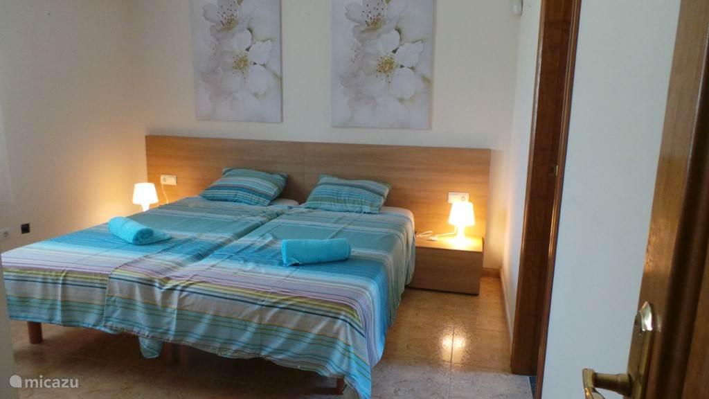 slaapkamer met badkamer ensuite