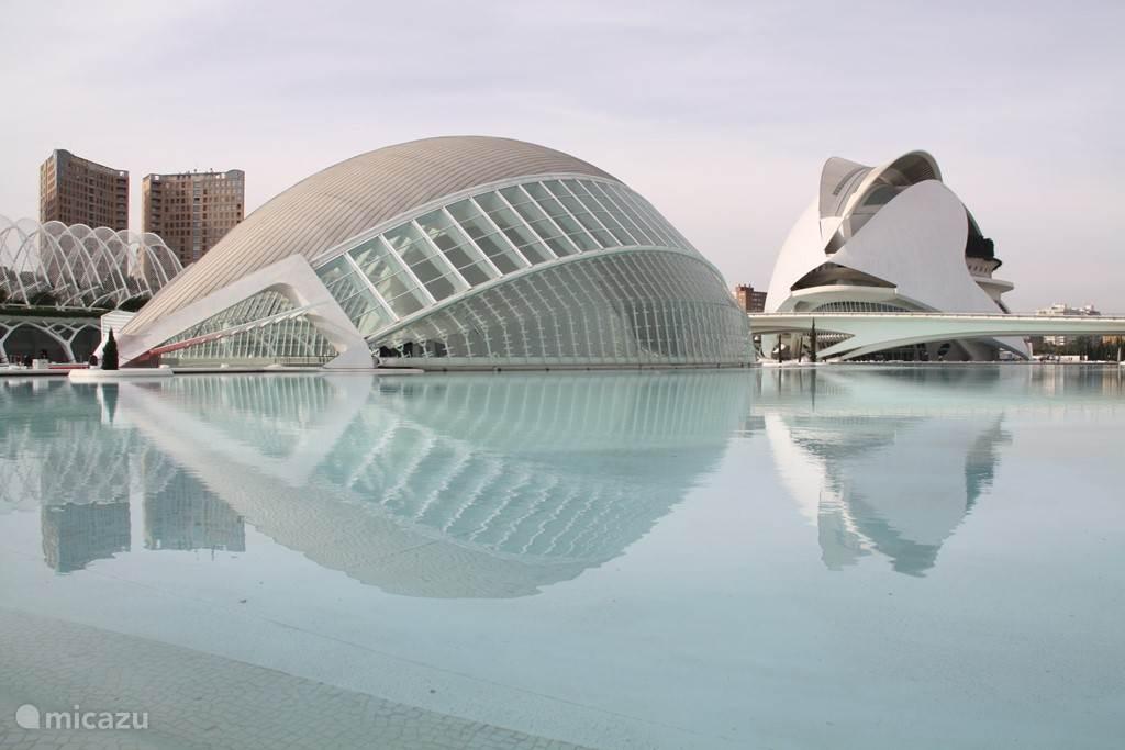 Ciutat de las artes y sciencas in Valencia