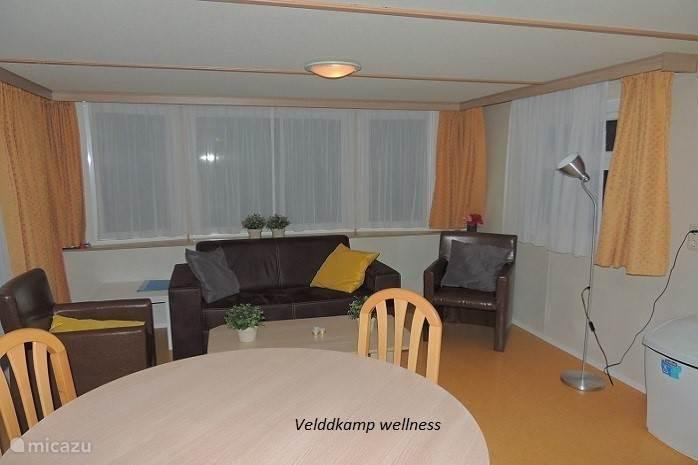 Woonkamer Chalet Veldkamp wellness