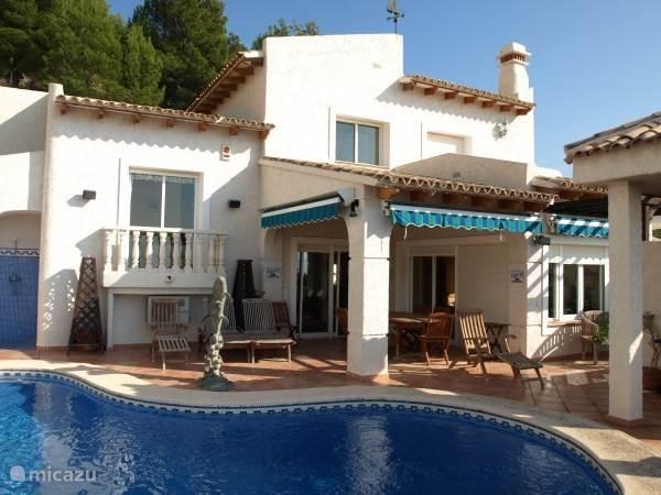Vakantiehuis Spanje, Costa Blanca, Altea - chalet Villa Altea Hills