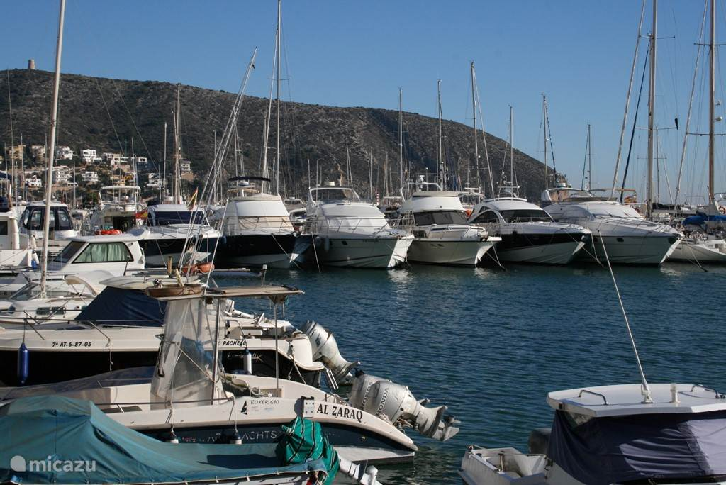 Jachthaven Moraira.