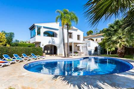Vacation rental Spain, Costa Blanca, Moraira villa Casa de La Fuente