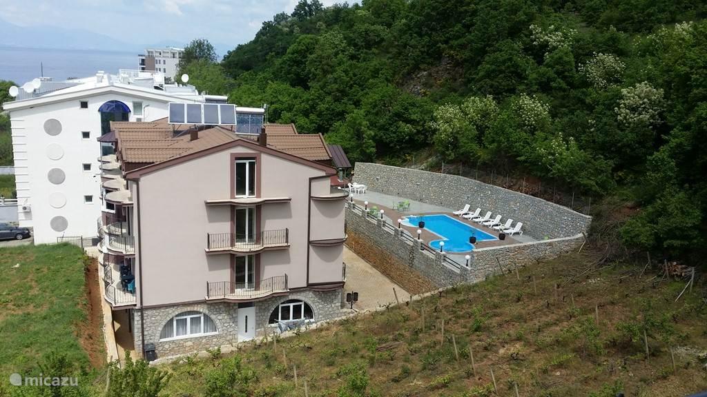 Duiken / snorkelen, Macedonië, Meer van Ohrid, Pestani, bed & breakfast  Vila Blago