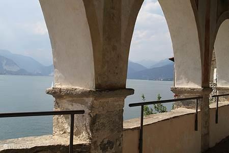 Lago Maggiore, Calde, San Catarina del Sasso, de eilanden