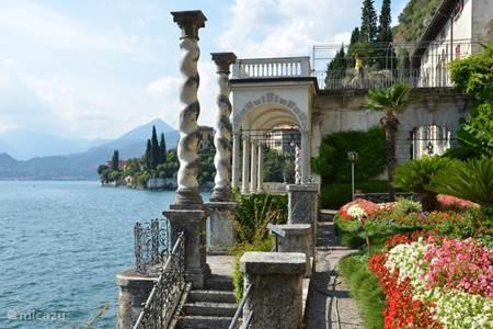 Comomeer, Bellagio, Villa del Balbianello, een enge weg, George Clooney