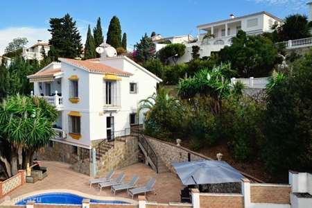 Vakantiehuis Spanje, Costa del Sol, Benajarafe villa Vlak bij Malaga! Casa Andalucia