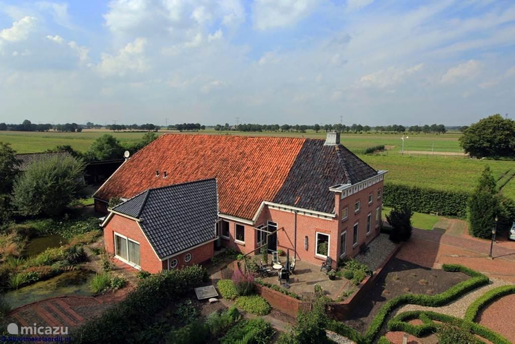 Vakantiehuis Nederland, Groningen, Oude Pekela appartement Vakantiehoeve Oase 1