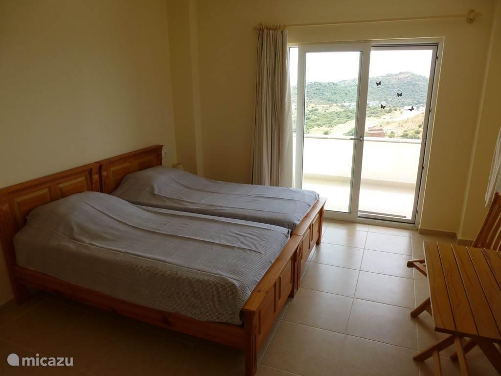 Tweede slaapkamer met balkon