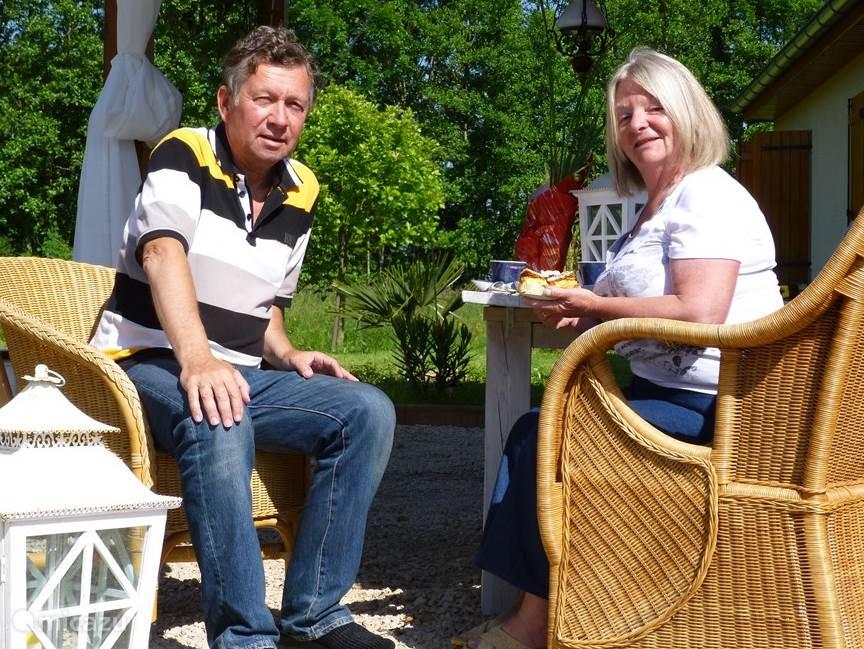 Tineke en Jan Bos