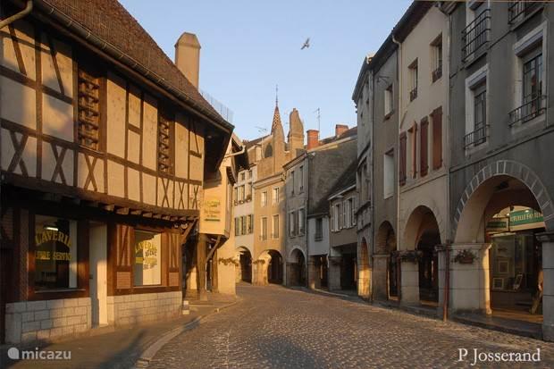 Het historische stadje Louhans