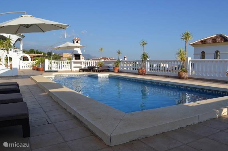 Vakantiehuis Spanje, Andalusië, Mondrón Villa Villa Las Golondrinas