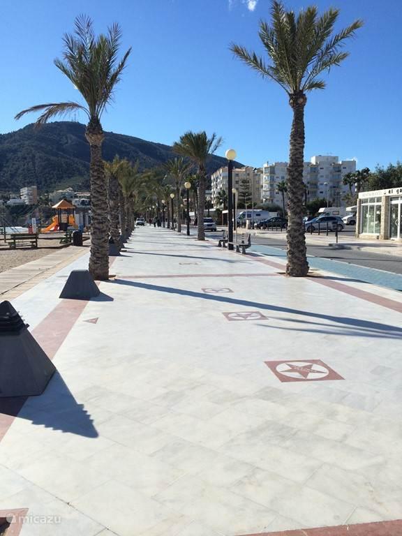 promenade in Albir