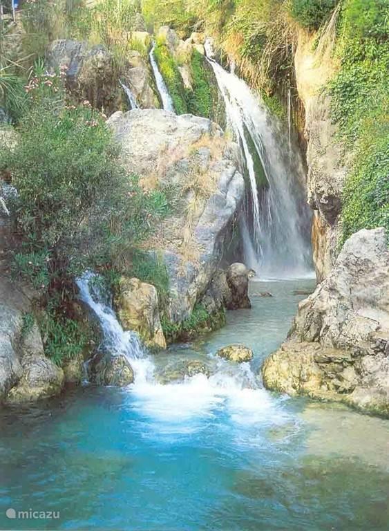 Fuentes de l'Algar watervallen