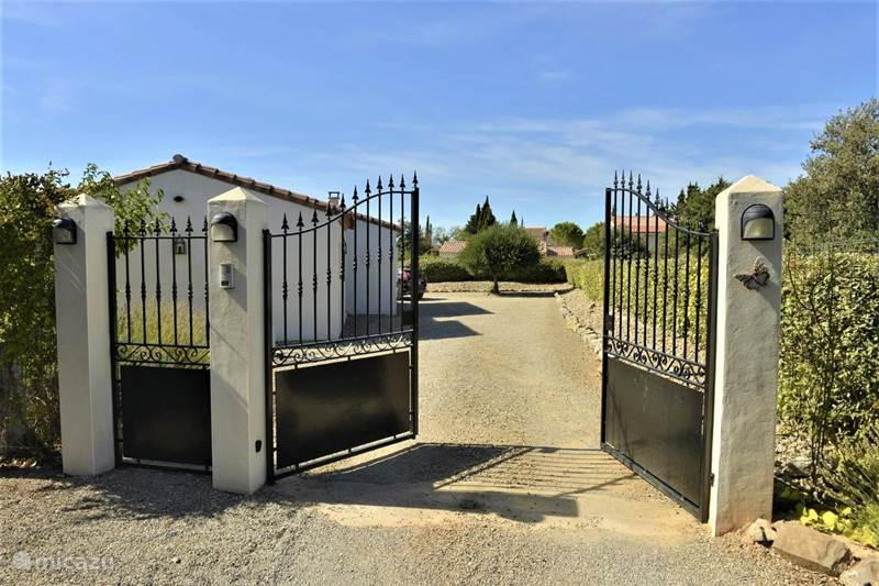 Vacation rental France, Aude, Escales Holiday house Le Papillon