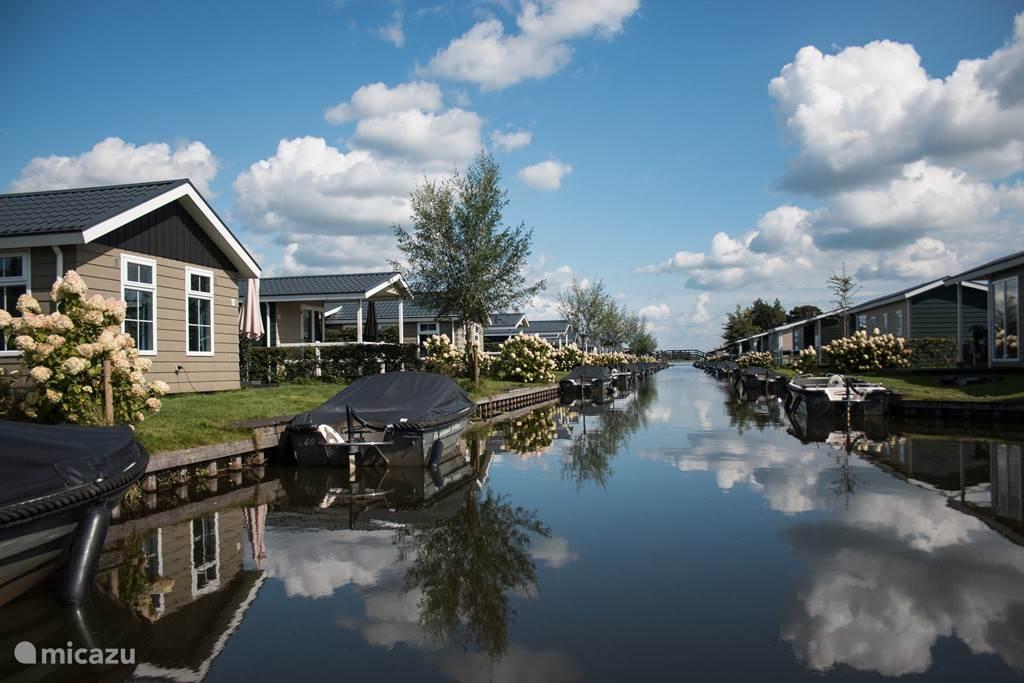 Vakantiehuis Nederland, Overijssel, Giethoorn Gîte / Cottage Vakantiepark Giethoorn, Roerdomp 6p