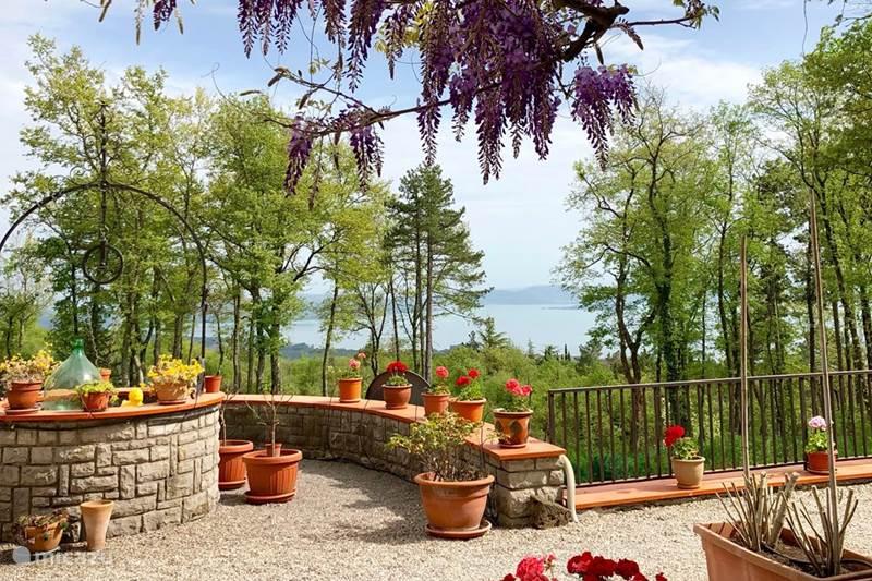 Vakantiehuis Italië, Umbrië, Tuoro sul Trasimeno Appartement Woning Rafael - Villa Pellegrino