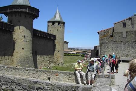 Breng eens een bezoekje aan Carcassonne.