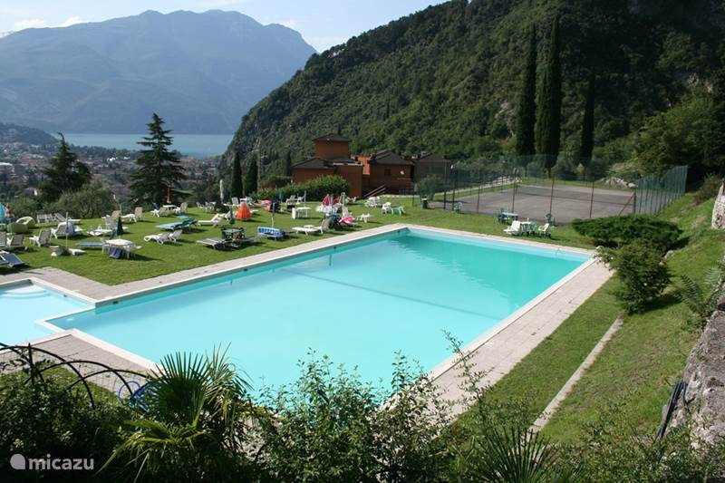 Vakantiehuis Italië, Gardameer, Riva del Garda Appartement Residentie localita Dom 6F, app 14B