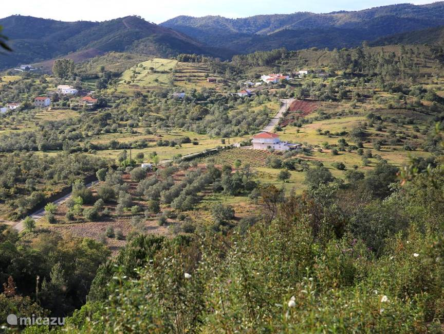 Op weg naar dorpje Salir