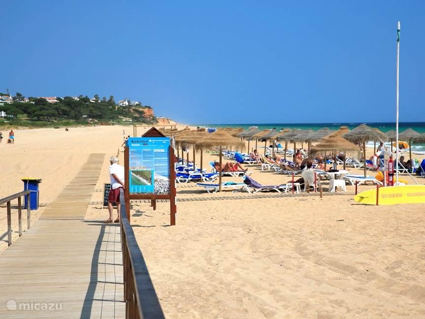 Dichtstbijgelegen strand bij Quarteira