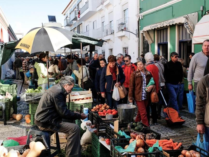 Zaterdagmarkt in Loulé