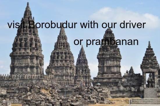 Borobudur and Prambanan, visit all ...