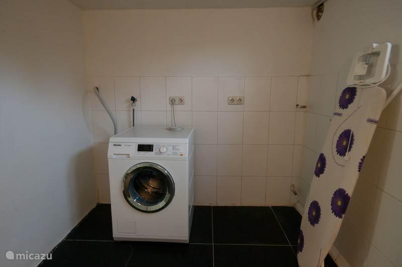 Wasmachine kelder
