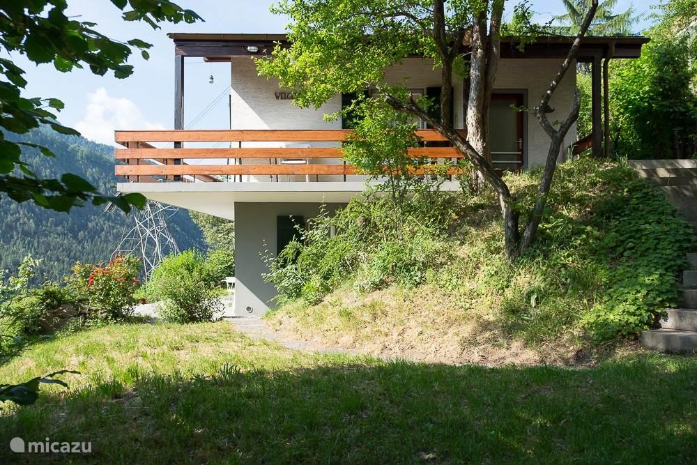 Vakantiehuis Zwitserland, Wallis, Mörel - chalet Welgelegen oben (bovenwoning)