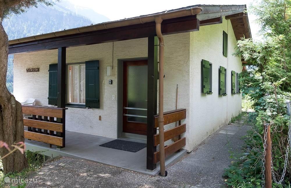 Vakantiehuis Zwitserland, Wallis, Mörel Chalet Welgelegen oben (bovenwoning)