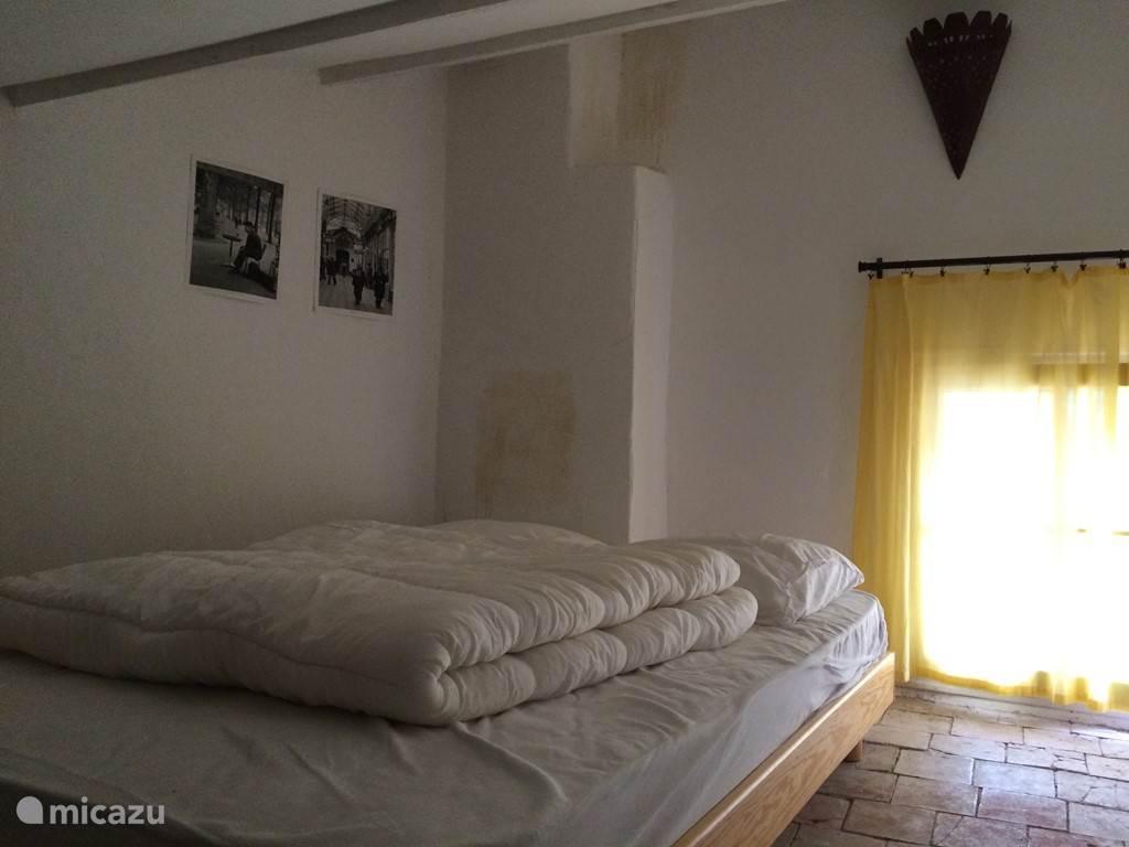 Slaapkamer 3 op 2e verdieping met 2 persoonsbed