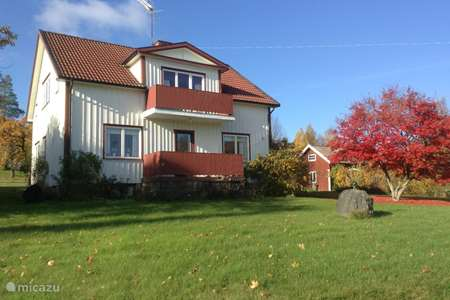 Vacation rental Sweden, Västergötland, Vegby holiday house The white house