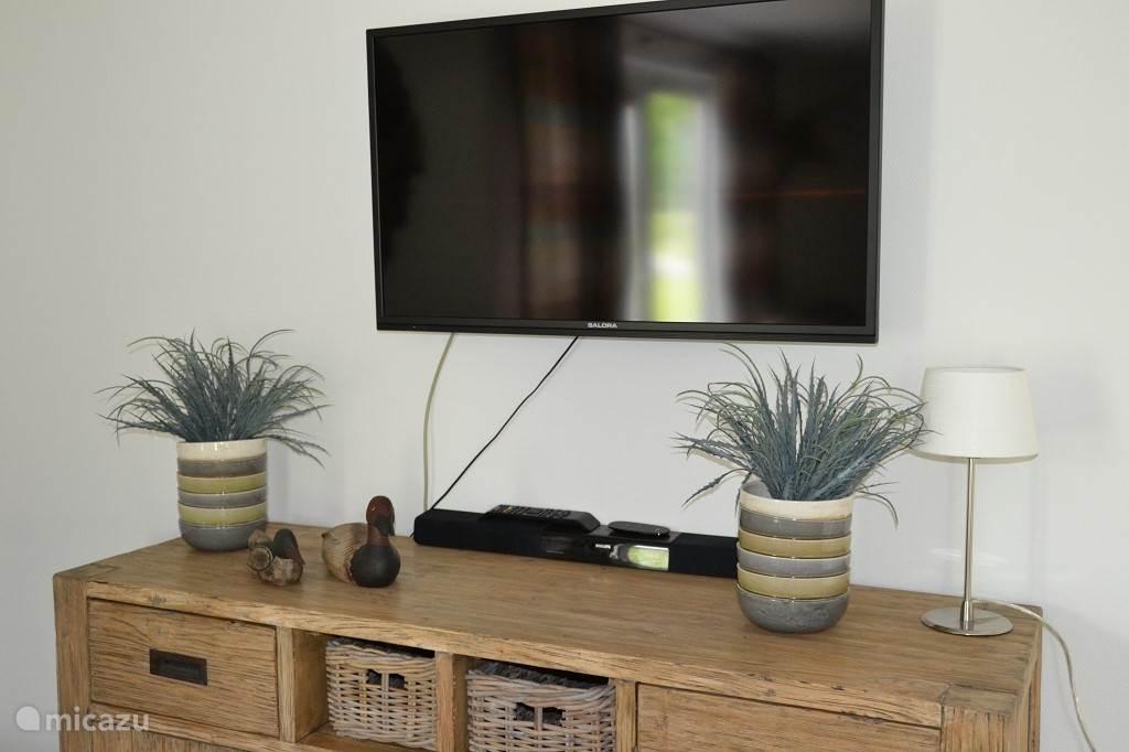 Televisie in de woonkamer